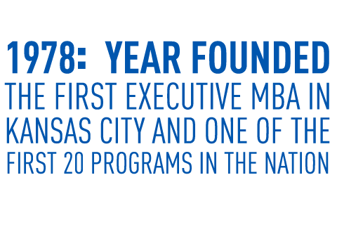 Kansas City's first Executive MBA, founded in 1978