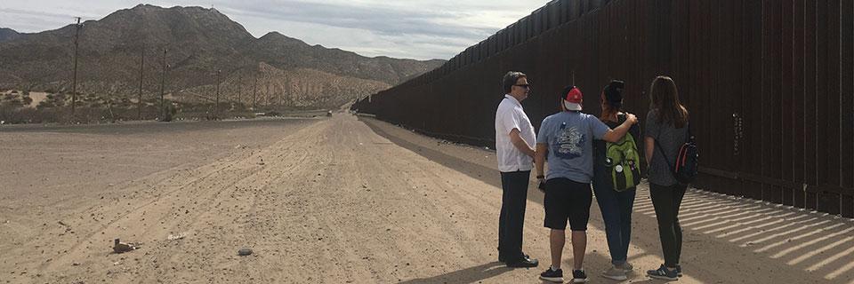 Service Trip at Border Wall