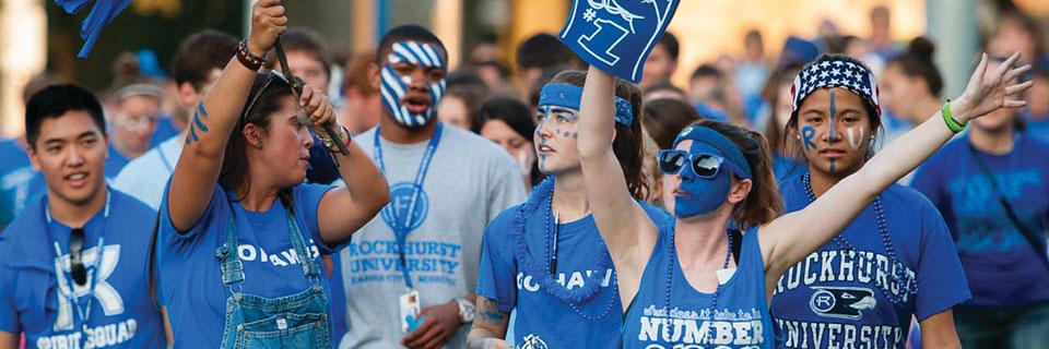 Students rallying