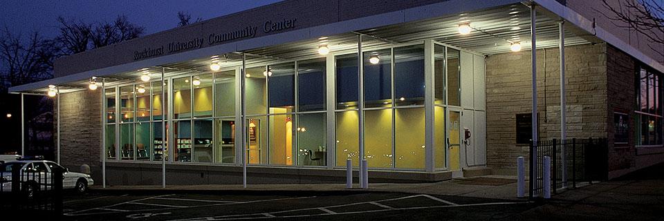Community Center at night