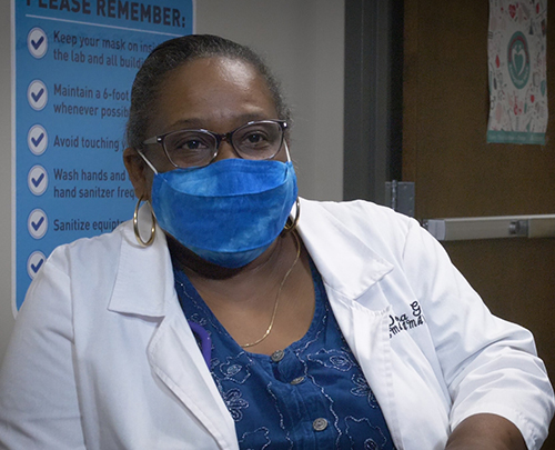 Donna Gardner, director of Medical Assisting Program at Saint Luke's College of Health Sciences