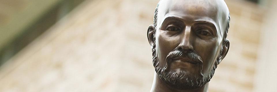 Saint Ignatius Statue Head