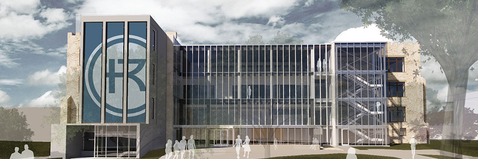 Sedgwick Hall mockup design