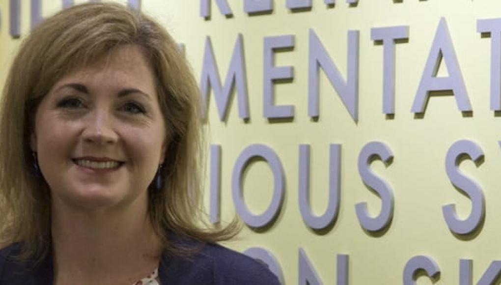 Faculty member Ellen Stephenson