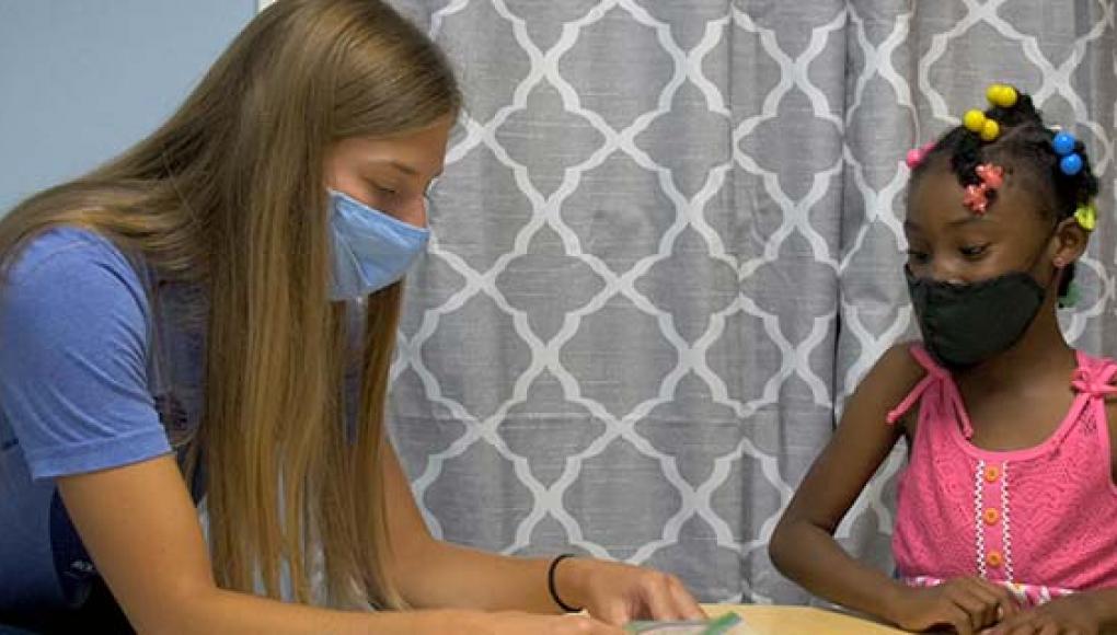 Rockhurst OT, SLP students at Operation Breakthrough Kansas City