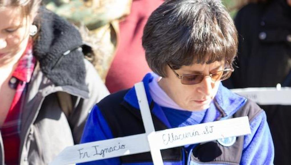 Students, faculty and staff attend a prayer service