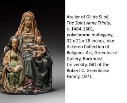 Gil de Siloe, The Saint Anne Trinity