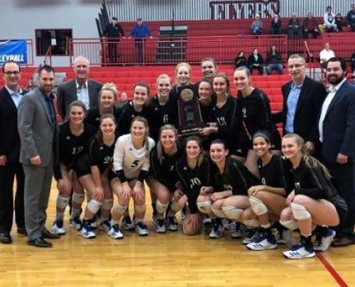 Rockhurst Volleyball Regional Champions