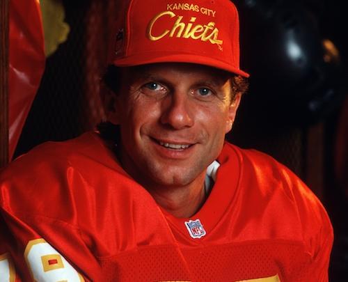 Joe Montana as a member of the Kansas City Chiefs