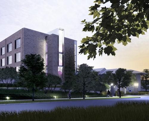 Rendering of the new Paseo project