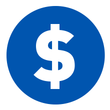 Pay deposit icon