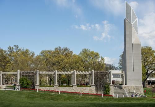 The Rockhurst bell tower