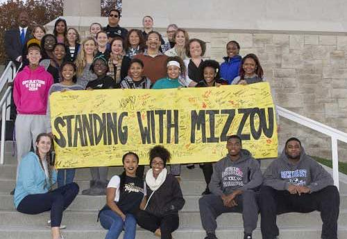Standing with Mizzou