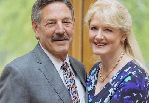 Rick Sullivan and his wife, Susan