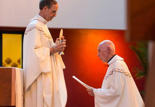 Final Vows Marks Fr. Curran's Acceptance to Society of Jesus