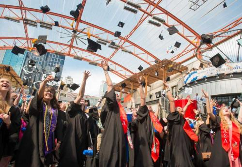 Approximately 660 Students Graduate at 95th Commencement