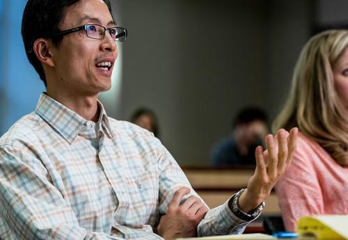 Wenbin Sun in class
