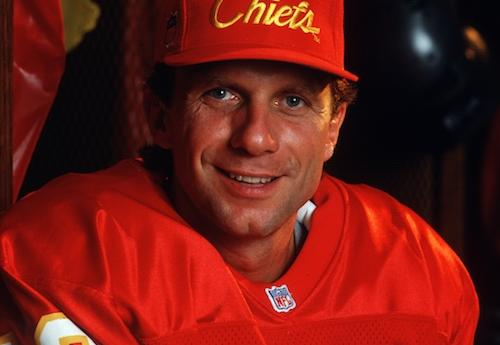 Joe Montana as a member of the Kansas City Chiefs