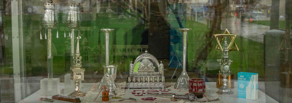 Religious objects donated to the University