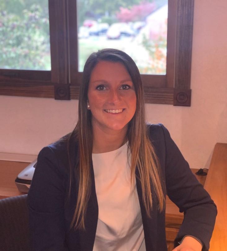 Intern, Tessa Buchheit, working from home