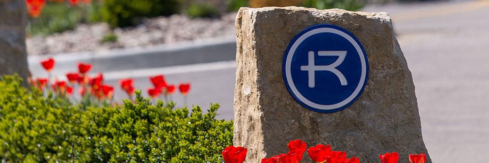 Rockhurst University signage